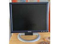 15 inch LG Flatron Computer and 15 inch Dell Computer Monitor (power cable included)