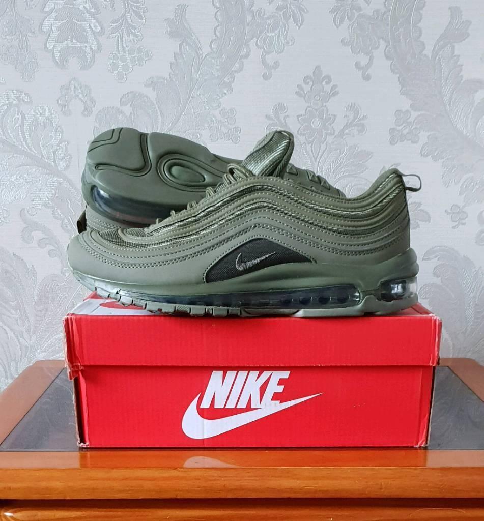 fe78cd0c5781bf Nike airmax 97   Army Green