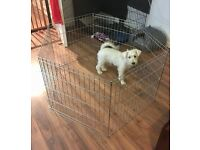 Puppy Pen Dog Crate metal