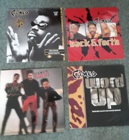 JOB LOT 4 X CAMEO LP/EP/and EXTENDED MIXES VINYL RECORDS