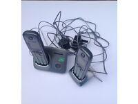 A Pair of Panasonic Cordless Landline Phones