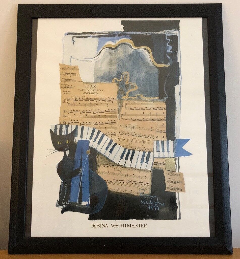 Music Print By Rosina Wachtmeister In Lakenheath
