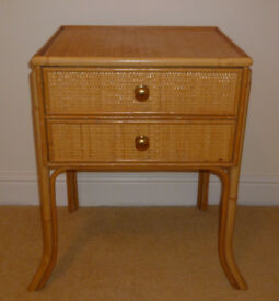 Bedside cabinet with two drawers