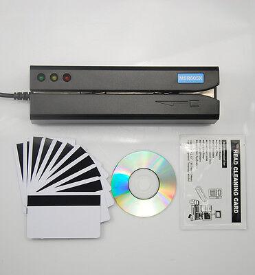 Magnetic Credit Card Reader Writer Encoder MSR605X Swipe Magstripe MSR605Upgrade