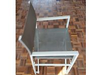 Solid metal folding garden/picnic/camping chair