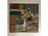 Large Toy Story Buzz Lightyear Canvas