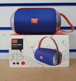 PORTABLE BT SPEAKER WITH STRAP BRAND NEW WITH RECEIPT