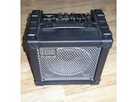 "Roland Cube 15 1x8"" compact 15W Guitar Combo Amp, 2 channel, 4 overdrive effects"