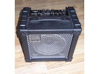 """Roland Cube 15 1x8"""" compact 15W Guitar Combo Amp, 2 channel, 4 overdrive effects"""