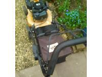 JCB self propelled petrol lawnmower
