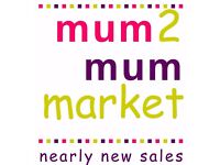 Mum2Mum Market - Nearly New Sale - Stevenage
