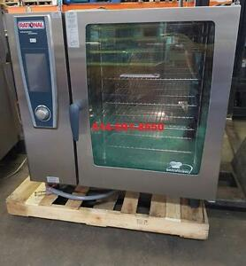 RATIONAL Self Cooking Center / White Efficiency LIKE NEW / COMME NEUVE / COMBI OVEN / Four