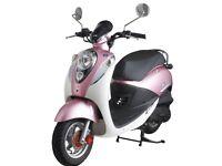 SYM Mio 100 scooter, 2011, Pretty in Pink