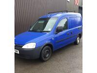 04 Vauxhall Combo 1.7 DIESEL*New Mot*Side Door*Roof Rack*Plyed Rear* £995!!