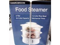 BRAND NEW 2 TIER STEAMER (STILL IN BOX)