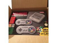 SNES CLASSIC MINI WITH OVER 300 GAMES