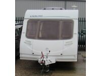 STERLING ECCLE ELITE EXPLORER 2006 *ISLAND BED* 4 BERTH CARAVAN