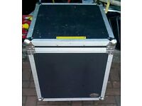 Flight case on wheels(Lockable).