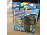 Tetra EX 1200 Plus aquarium external filter pump - BRAND NEW