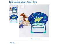 Children's Dinosaur Moon Chair
