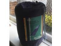 Single reversible summer sleeping bag