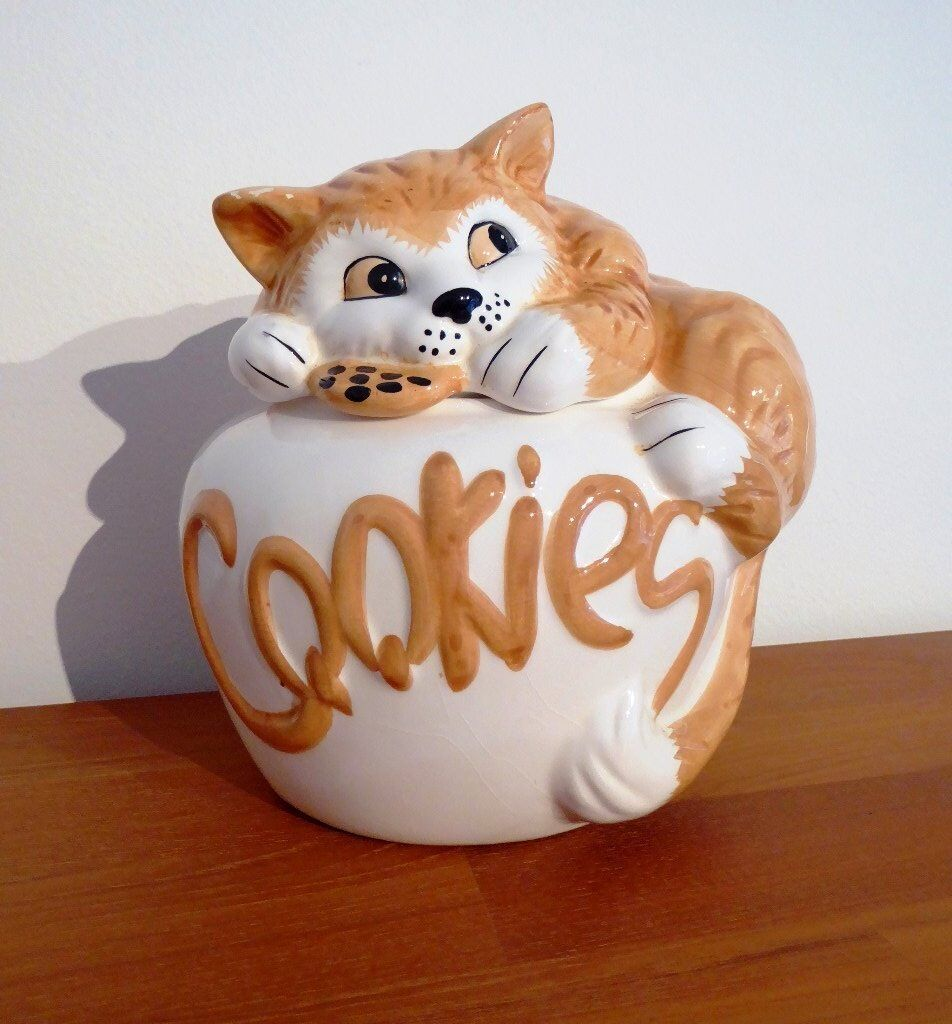 a4b85d1fea1 Kitty cat cookie jar. Stanford-le-Hope