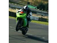 Kawasaki zx10 track race bike px swap