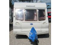 BAILEY PAGEANT IMPERIAL 2001 *MOTOR MOVER*AWNING* 2 BERTH CARAVAN