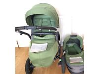 Britax Affinity Travel System in Cactus Green