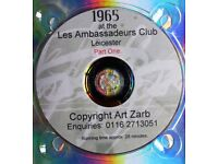 1965 CELEBRITY & SPECIALITY NIGHTS at THE LES AMBASSADEURS CLUB Leicester DVD. Part one.
