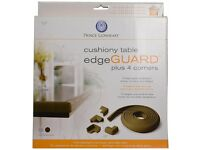 Brand new in box Prince Lionheart Table Edge Guard with 4 Corners (Chocolate)
