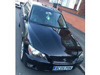Lexus 2005 IS200 Sport 2.0 Petrol 38K mileage FSH 11 months MOT £2800 ono