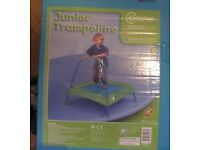 Kids Trampoline. Hardly used. Still boxed. 87 x 89 x 89cms. Very good condition.