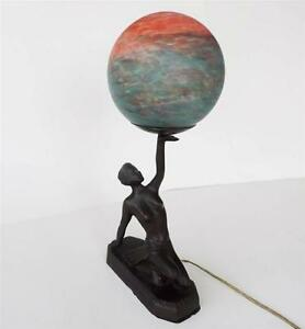 Antique Gl Globe Lamps