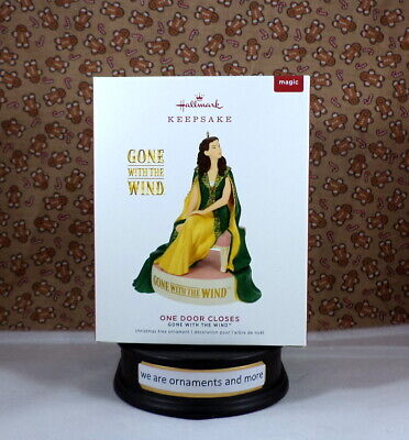 2019 Hallmark One Door Closes - Gone With the Wind - Magic Christmas Ornament