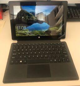10 inch Tablet PC - Windows 10 - Intel Atom Processor - 4GB RAM - Soft Cover -Detachable Keyboard