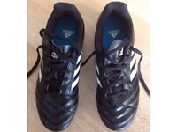 Junior Football Shoes - Adidas RRP £29.99 - Used only twice - excellent condition