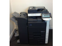 Konica Minolta Bizhub C452 Colour Laser Copier/Printer/Scanner/Mint Condition & All Full Toners