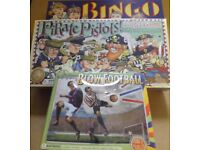 CHRISTMAS GAMES IDEAL FOR STOCKING FILLERS - NEW/UNUSED