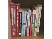 Sports Psychology, Nutrition, Training, Personal Trainer Books