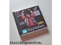 Playstation 1 Games Brand New & Original Seal