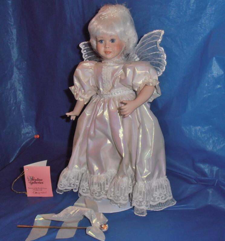 Paradise Galleries, Vintage Porcelain Doll ( Kristen )