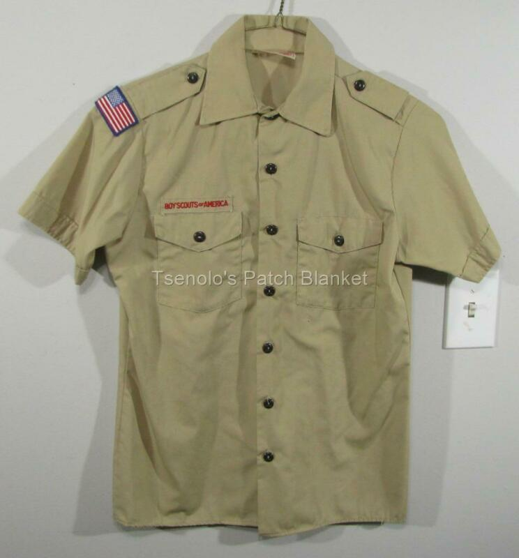 Boy Scout now Scouts BSA Uniform Shirt Size Adult Small SS FREE SHIPPING 036
