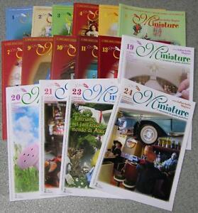 16-riviste-LA-BACCHETTA-MAGICA-MINIATURE-creazioni-in-pasta-sintetica-roombox