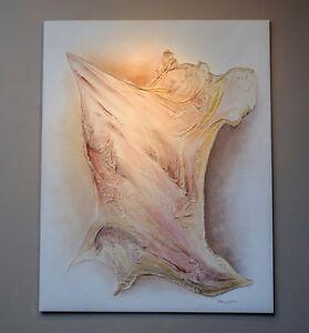 JEAN VIENS Custom Modern Abstract PAINTING Canvas Fiberglass