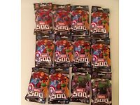 MARVEL 500 . . . . . . . . . . 12 Brand New / Unopened Packs