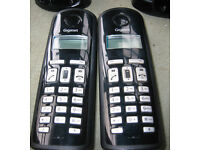Set of twin Cordless phones, Gigaset 110A,