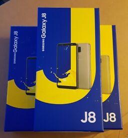 "Samsung Galaxy J8, 32GB/3GB/6"", Dual sim, Brand New, Boxed, Unlocked"