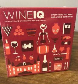 Wine IQ Game & Wine Labels Book