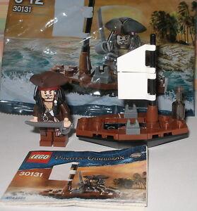 Lego 30131 Fluch der Karibik Jack Sparrow mit Schwert / Minifigur mit Boot OVP